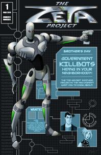 Zeta Project - Webcomic Cover