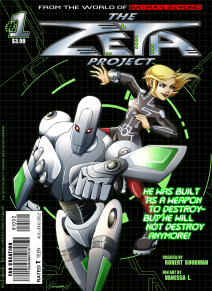 Zeta Project - Fake Comic Cover