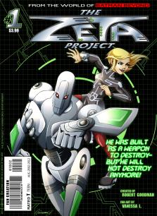 Zeta Project - Fake Comic Cover